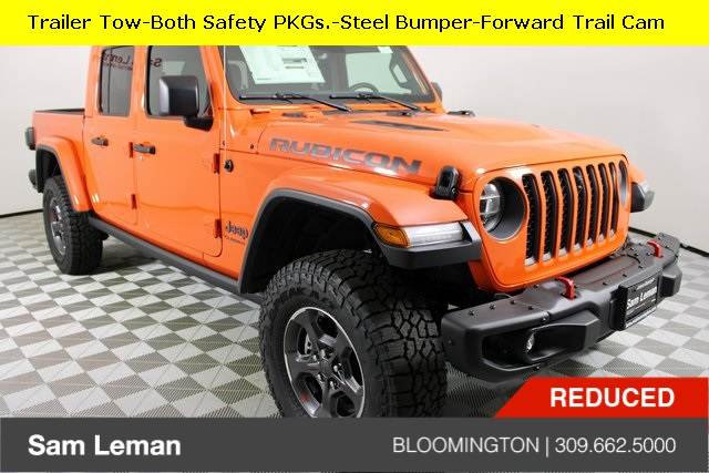 New 2020 Jeep Gladiator Rubicon Crew Cab In Bloomington J20069