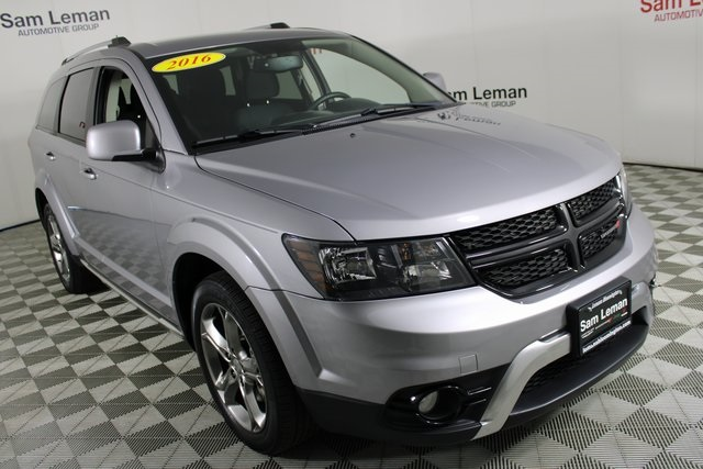 2016 Dodge Journey >> Pre Owned 2016 Dodge Journey Crossroad Fwd 4d Sport Utility